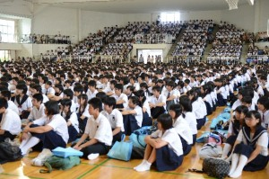 高校体験入学 一日目 - ニュース...